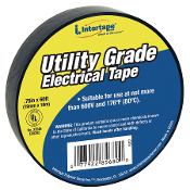 "761-602   3/4"" X 60' 7 MIL BLACK ELECTRICAL TAPE (10 pack)"