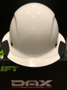 HDC-18WG CARBON FIBER HARD HAT - FRP WHITE